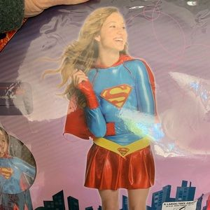 Other - Super girl costume Halloween girls 14-16